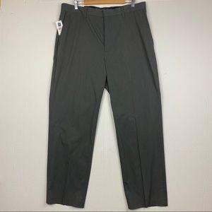 Gap Classic Stretch Gray Straight Leg Pants 38x32